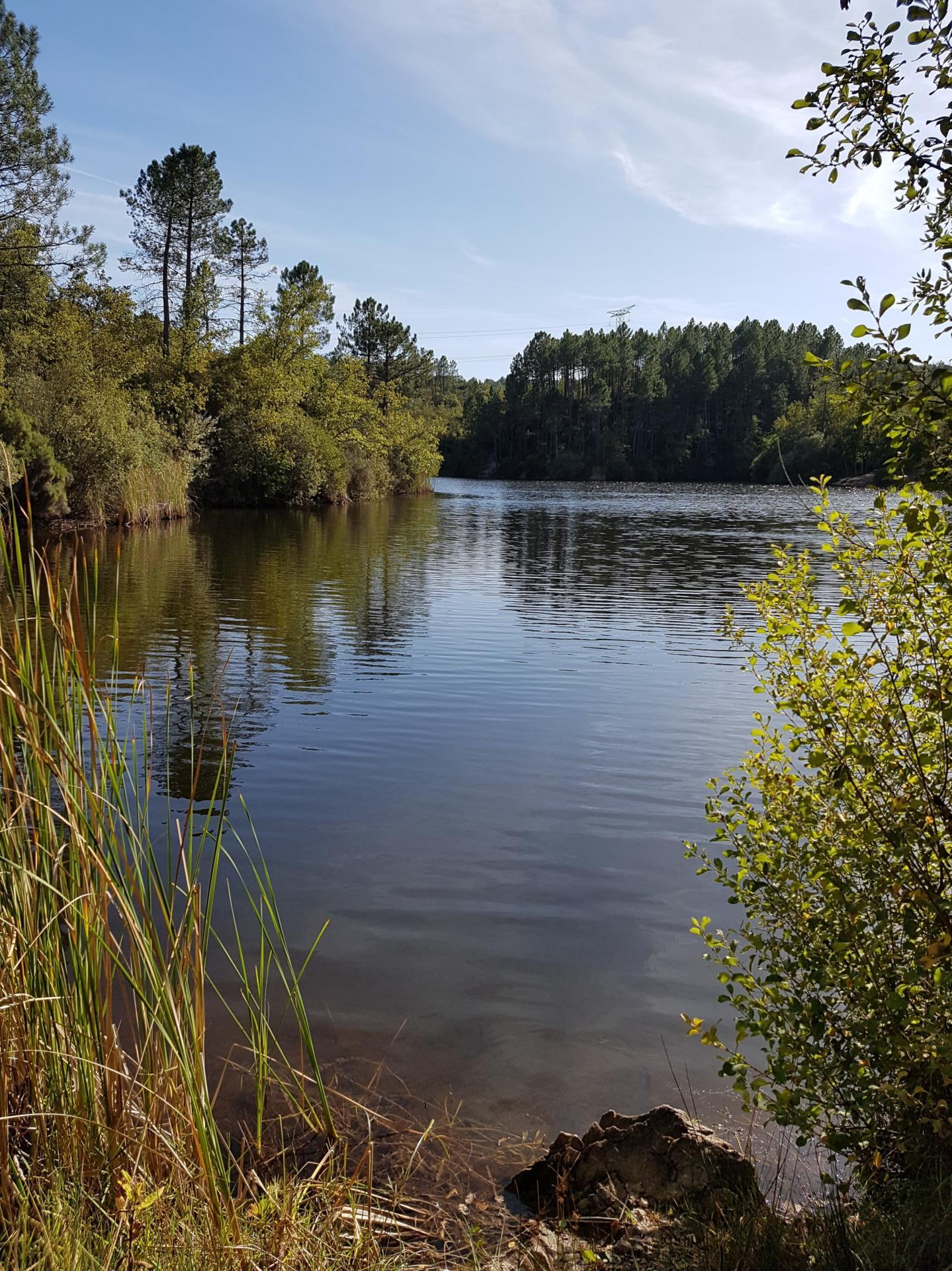 Lac du rioutard saint paul en foret gorges du verdon sejour provence 6