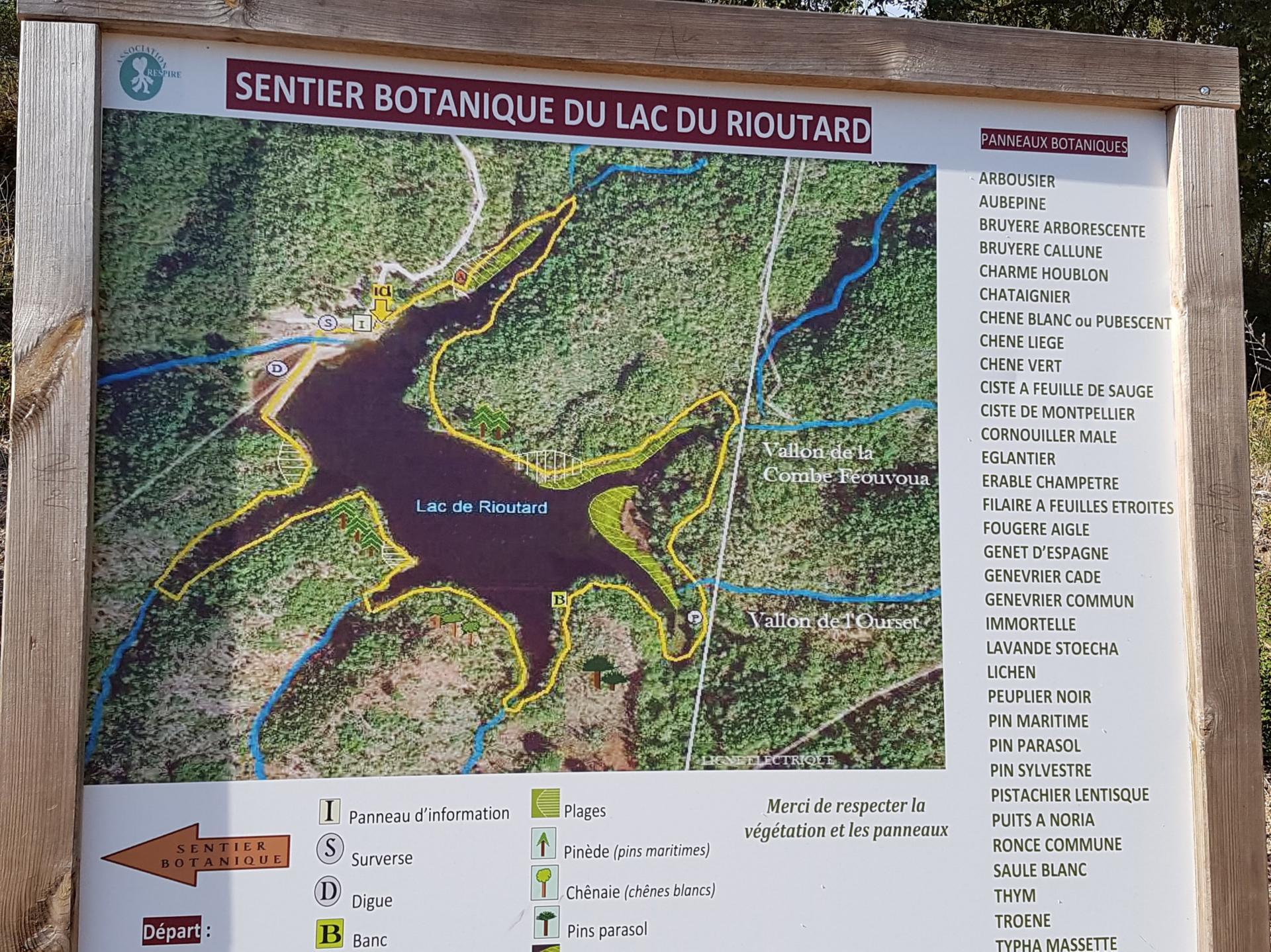 Lac du rioutard saint paul en foret gorges du verdon sejour provence 7