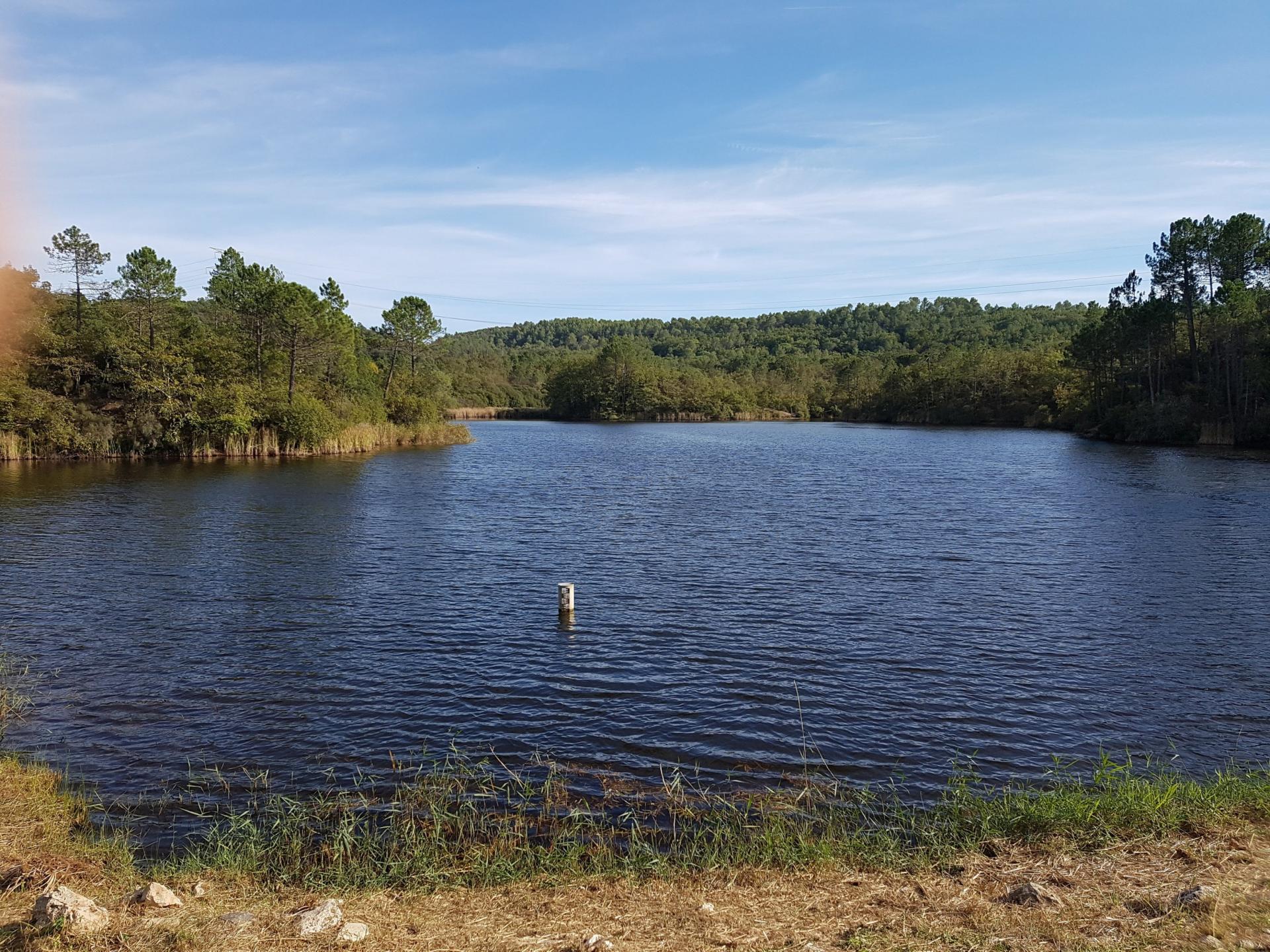 Lac du rioutard saint paul en foret gorges du verdon sejour provence 8