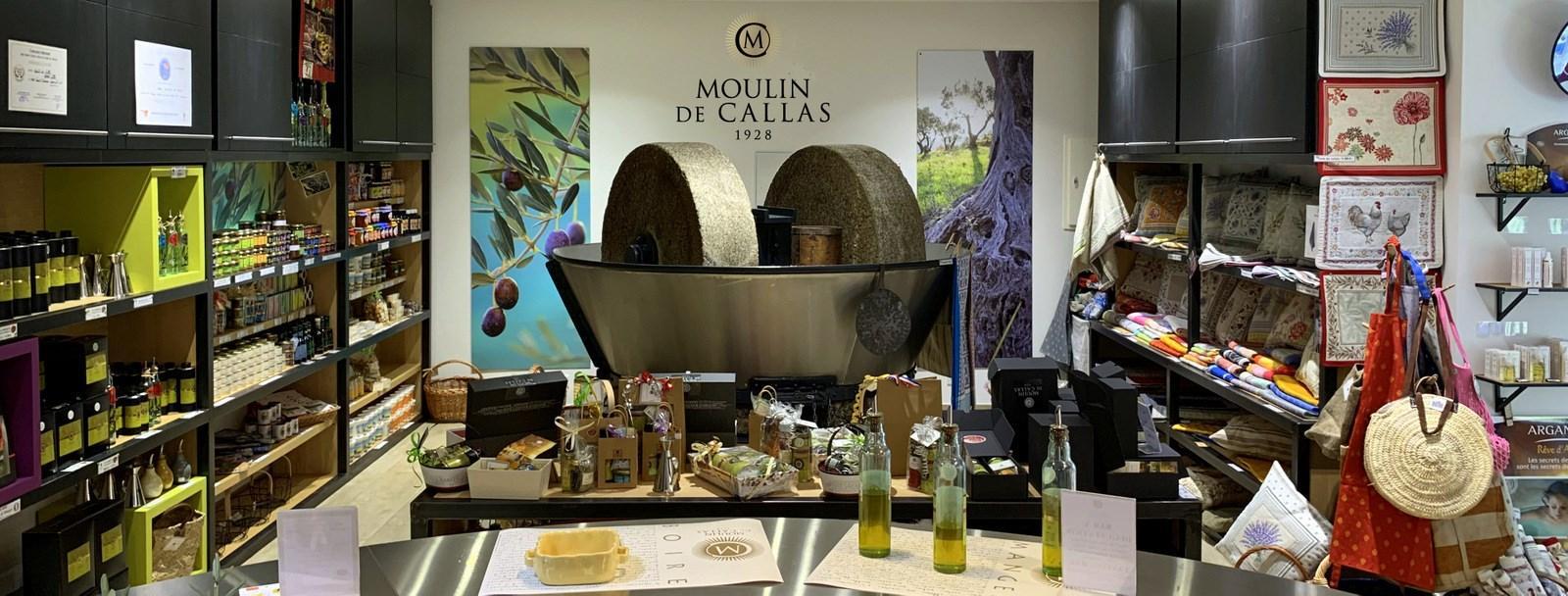 Moulin huile olives de callas proche gites du moulin avec spa